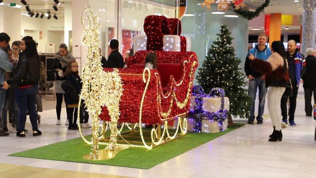 Papá Noel llega a Los Alfares