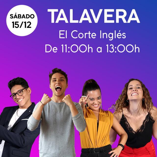 Cuatro concursantes de 'OT 2018' firmarán discos este sábado en El Corte Inglés de Talavera