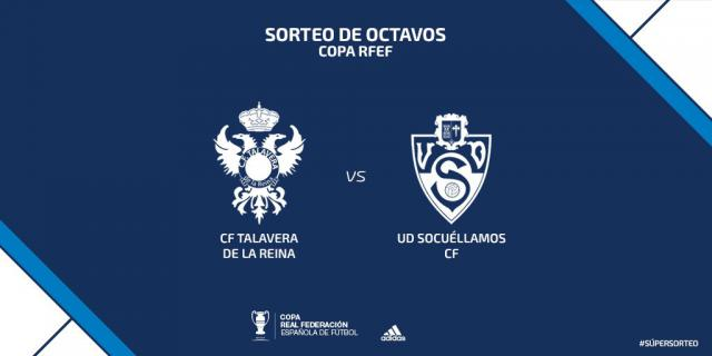 El Talavera se medirá al Socuéllamos en octavos de la Copa Federación