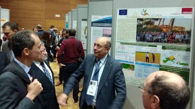 Pedro Duque conoció FATIMA, el proyecto europeo dirigido desde la UCLM