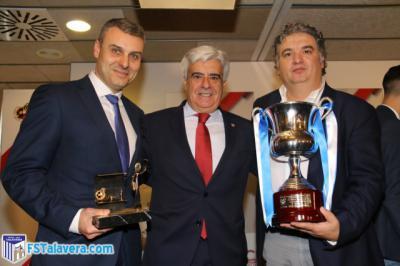 El Comité Nacional de Fútbol Sala premia al Soliss FS Talavera por partida doble