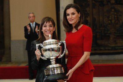 Sandra Sánchez recibe el Premio Nacional del Deporte