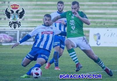 El CF Talavera anuncia el adiós de Víctor Calarge