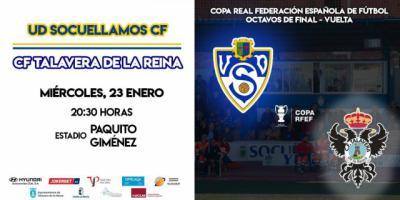 El Talavera quiere sellar el pase a cuartos de la Copa Federación ante el Socuéllamos