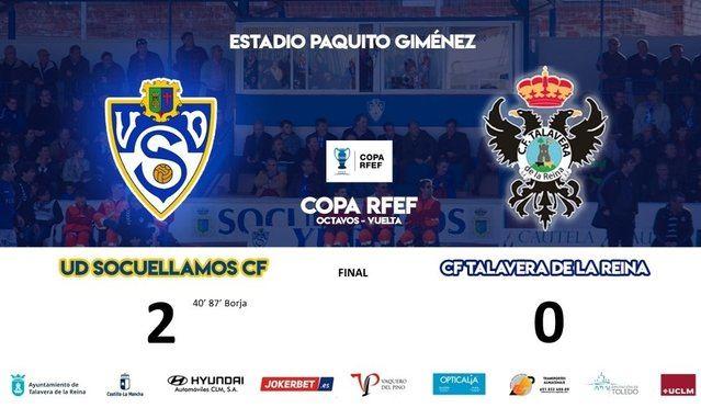El Talavera no puede con el Socuellamos y cae eliminado de la Copa Federación