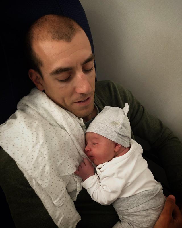 Feranado Alarza con su hija Elena / Twitter