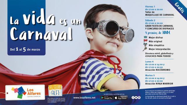 Vive el Carnaval en Los Alfares: talleres, concursos y atracciones