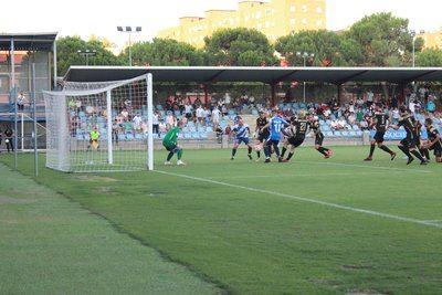 El CF Talavera estrena victoria en Primera RFEF ante el Sanse