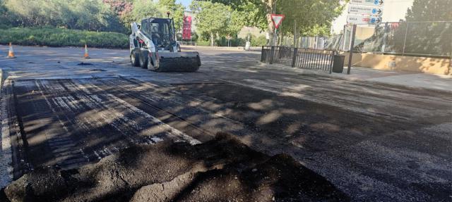 Cortes de tráfico en distintas calles por obras en pasos de peatones