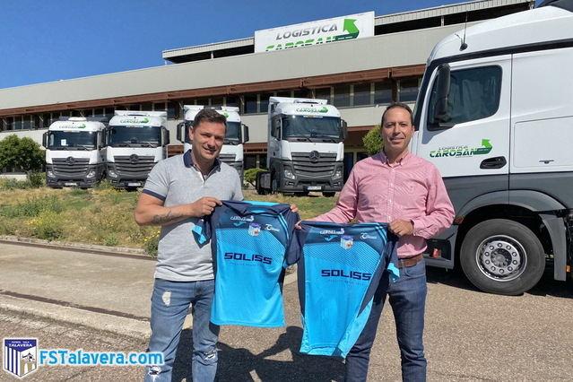 El agradecimiento del Soliss FS Talavera a Carosan