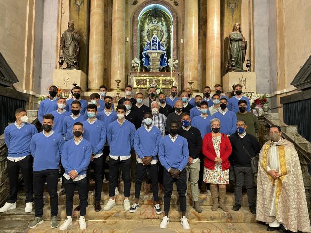 VÍDEO | Ofrenda floral a la Virgen del Prado y foto con Montepicaza
