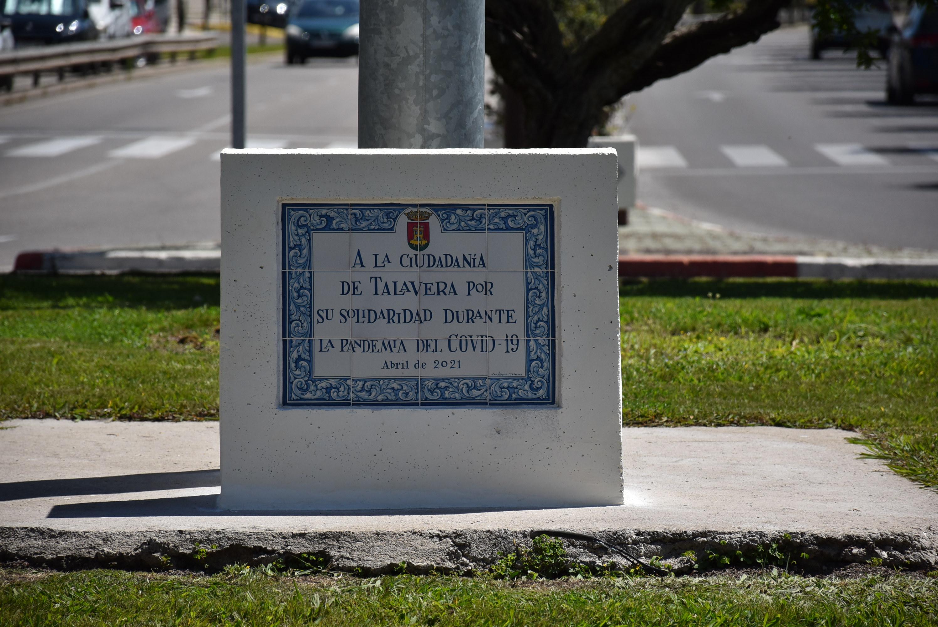 Talavera rinde homenaje a la ciudadanía por su lucha contra la pandemia