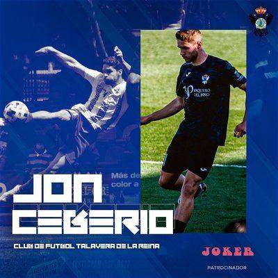 Jon Ceberio renueva por una temporada más en el CF Talavera
