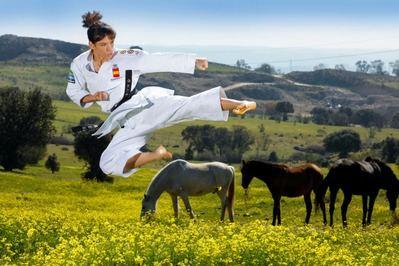 Todo el mundo apuesta por la karateka talaverana en los Juegos de Tokio