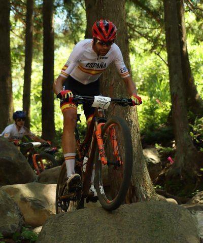 David Valero consigue el bronce en mountain bike