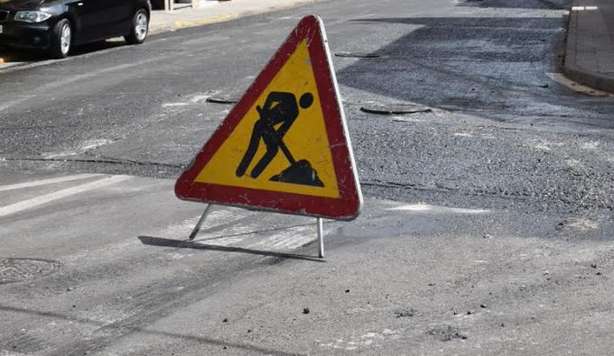 Aviso de cortes de tráfico en Talavera de la Reina por el plan de asfaltado