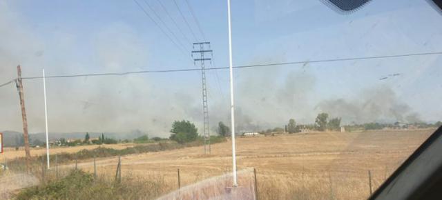 Extinguido el incendio forestal declarado en Talavera
