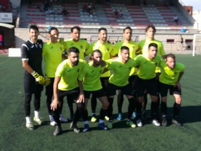 Once inicial del CF Talavera.