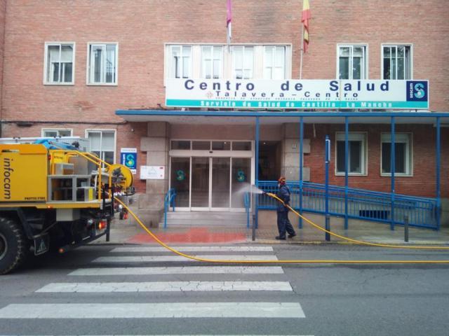 COVID-19   GEACAM ha realizado más de 13.000 desinfecciones de lugares públicos
