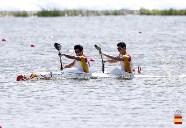 Cubelos y Peña ya están 'semis' y buscan el billete olímpico
