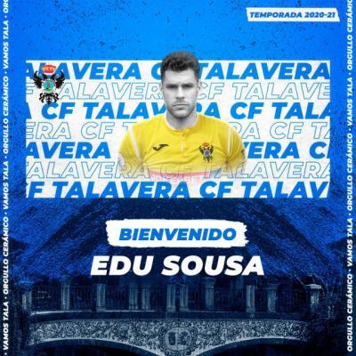 FÚTBOL | Edu Sousa, portero para el CF Talavera