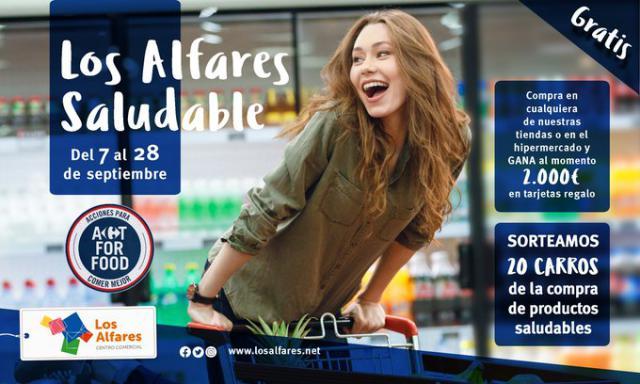 4.000 euros en cheques regalo, talleres de cocina infantil y mucho más en Los Alfares