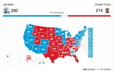 ELECCIONES   Joe Biden será el nuevo presidente de Estados Unidos