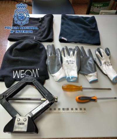 TOLEDO | Detenidos 'in fraganti' dos jóvenes tras cometer nueve robos