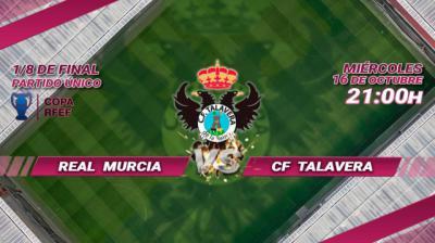 El CF Talavera se enfrenta al Real Murcia en los octavos de la Copa Federación