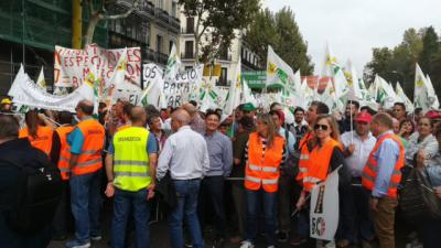 FOTOS | Miles de agricultores reclaman en Madrid