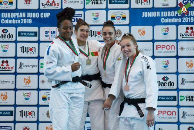 Lucía Pérez consigue el bronce en la Copa Europea Sub-21 de Judo