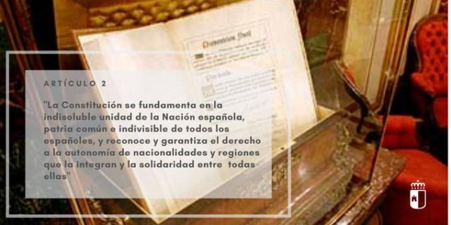 Page reivindica el artículo 2 de la Constitución sobre la 'indisoluble unidad de España'