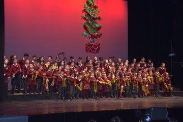 Segunda muestra escolar de villancicos navideños de los colegios talaveranos