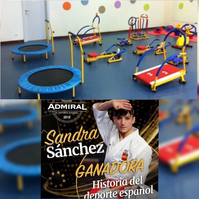 Sandra Sánchez dona el dinero de un premio para montar un gimnasio en el hospital de Toledo