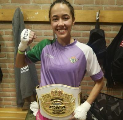 Lara Fernández, de Cebolla, una campeona del mundo sin apoyos