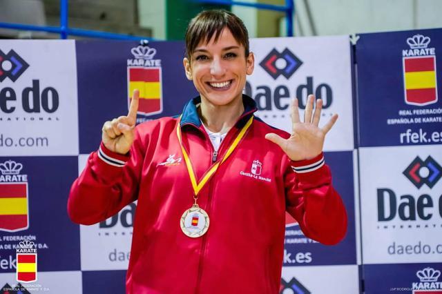 Sandra, seis años como campeona de España
