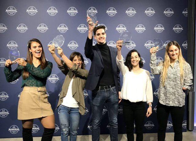 Sandra Sánchez recibe el Premio Admiral 'Historia del Deporte Español'