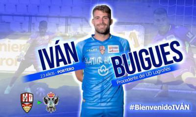 El alicantino Iván Buigues, nuevo portero del CF Talavera