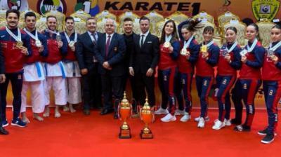El talaverano Alejandro Manzana se cuelga la plata con el equipo español en Dubai