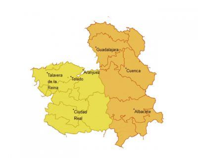 Aviso amarillo en la provincia de Toledo por rachas de viento de hasta 80 kilómetros