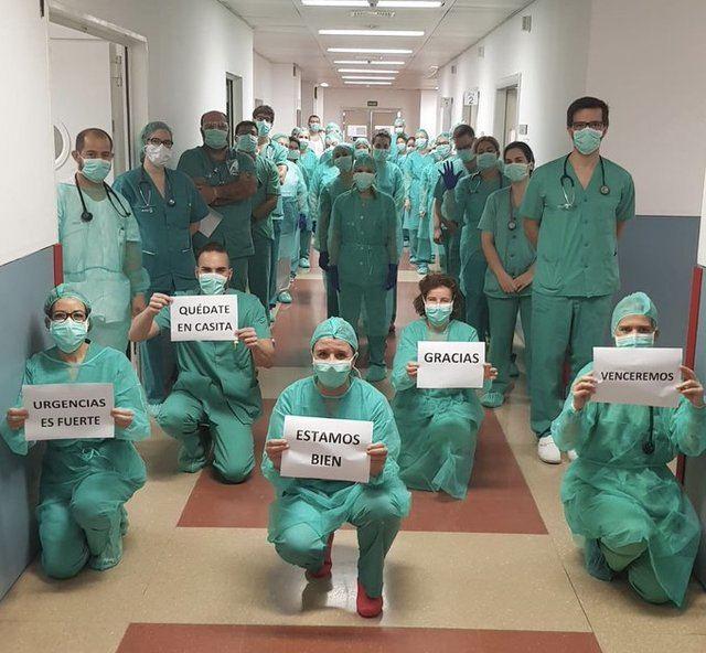 Profesional sanitario del Hospital de Talavera | Archivo