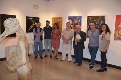 Inaugurada la exposición-homenaje a Alfonso Bravo Pina