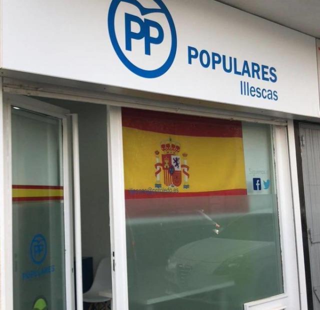 ILLESCAS | Amenazan con quemar la sede del PP