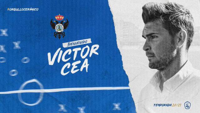 FÚTBOL | Víctor Cea, nuevo entrenador del CF Talavera