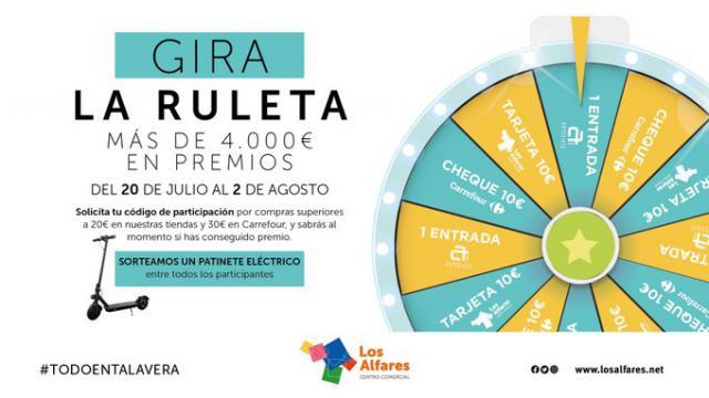 TALAVERA | ¡Gira la ruleta! Más de 4.000 euros en premios en Los Alfares