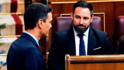 ESPAÑA | Abascal (Vox) anuncia una moción de censura contra Sánchez en septiembre