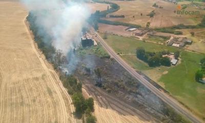 ÚLTIMA HORA | Medios aéreos y terrestres trabajan para sofocar un incendio en Talavera