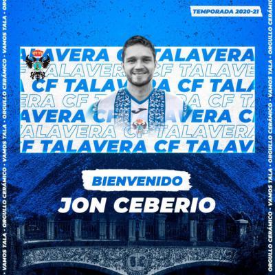 FÚTBOL | Nuevo fichaje en el CF Talavera