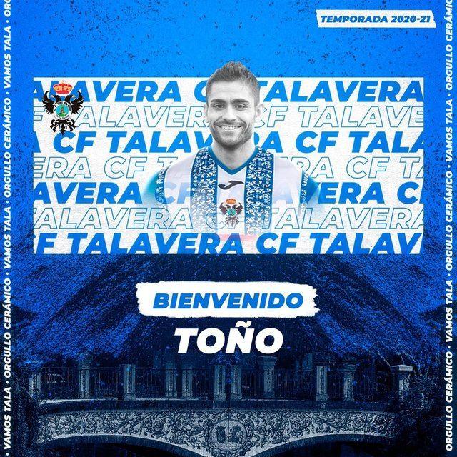 Toño Calvo | CF Talavera de la Reina