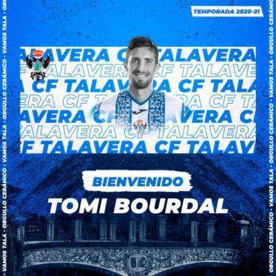 FÚTBOL | El CF Talavera anuncia la llegada de Tomi Bourdal